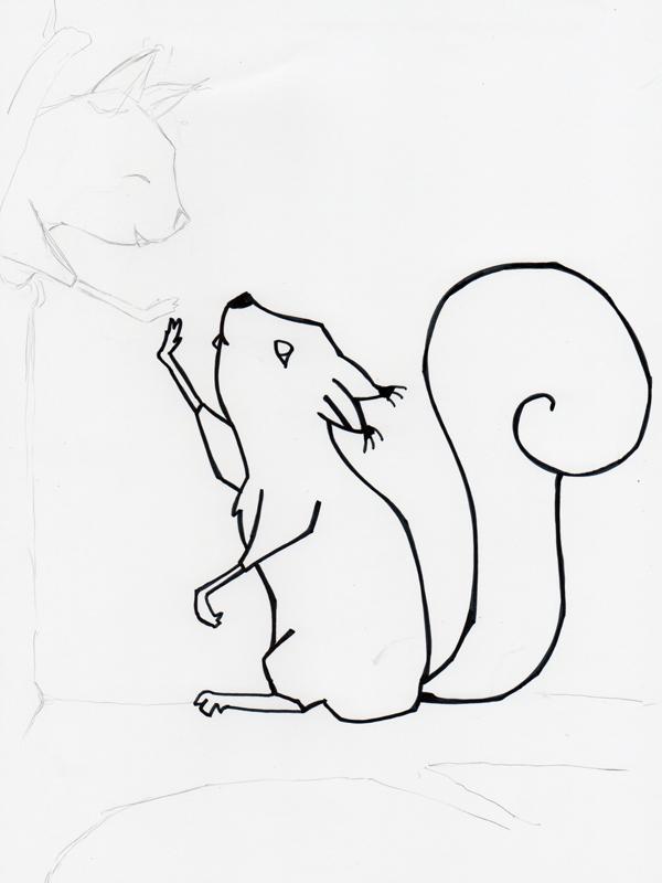 Eichhörnchengruß