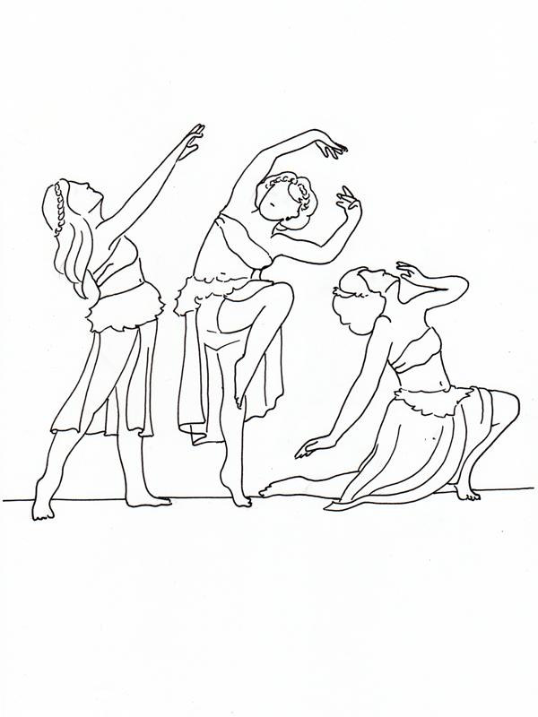 Tänzerinnen 1920er