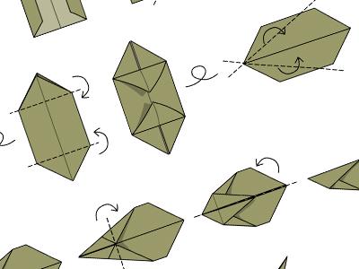 grafikwerkstatt origami osterhase grafikwerkstatt. Black Bedroom Furniture Sets. Home Design Ideas